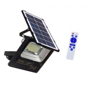 Toptan ve Ucuz Güneş Enerjili Projektör 50W Kumandalı Solar Led Bahçe Aydınlatma