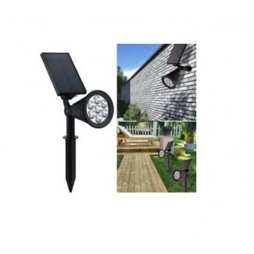 Güneş Enerjili Solar Bahçe Aydınlatma 7 Watt LED Lamba Güneş Panelli
