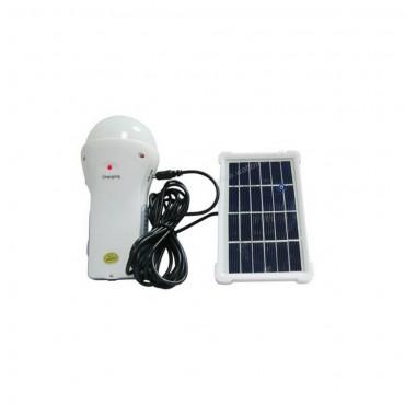 Güneş Panelli El ve Kamp Lambası Solar Led Lamba Aydınlatma